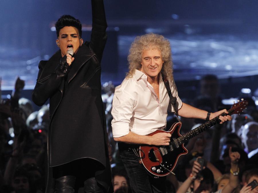 Adam Lambert i Brian May