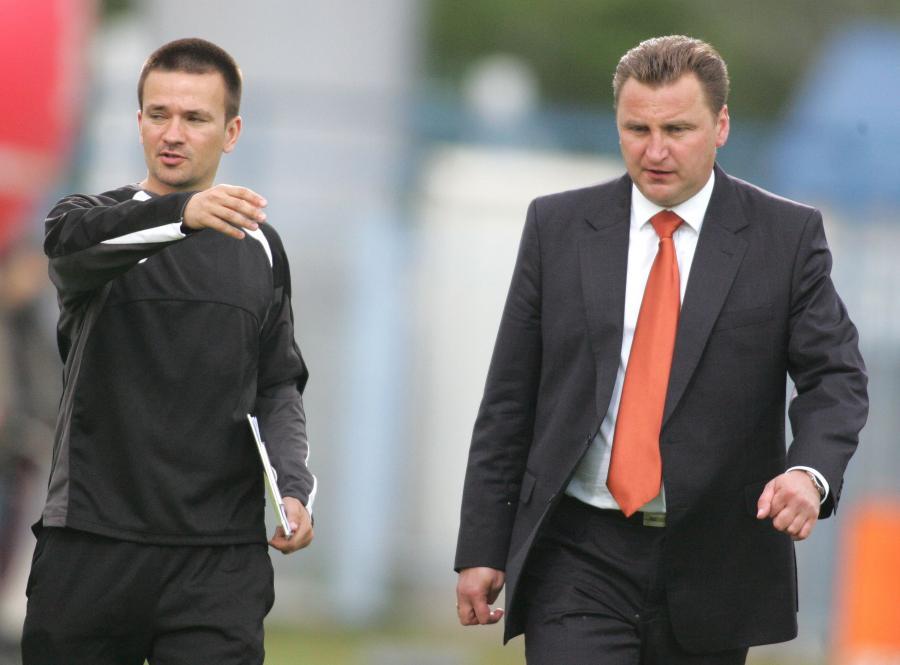 Rafał Ulatowski i Czesław Michniewicz