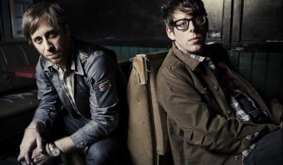 The Black Keys: Dan Auerbach (gitara i wokal) i Patrick Carney (perkusja)