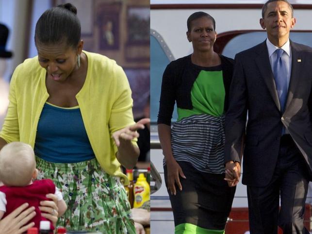 Kolorowe szaleństwo Michelle Obamy: Pierwsza Dama na Hawajach