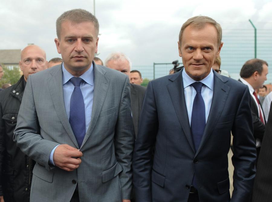 Bartosz Arłukowicz i Donald Tusk