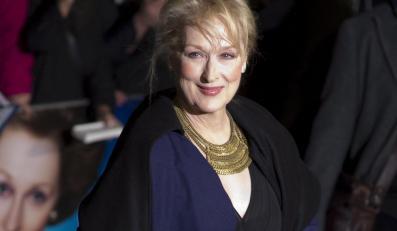 Meryl Streep na londyńskiej premierze