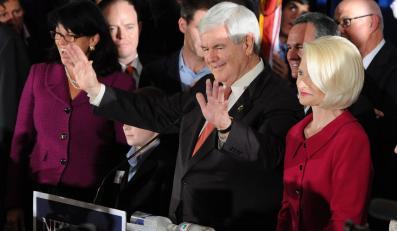 Zwycięstwo Newta Gingricha w prawyborach w Karolinie Południowej