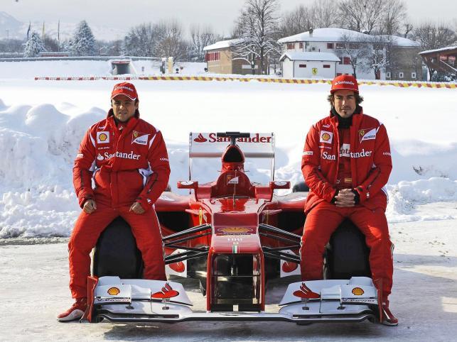 Nowy bolid Ferrari