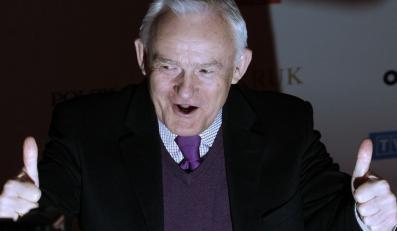 """Leszek Miller na gali Człowiek Roku 2011 """"Wprost"""""""