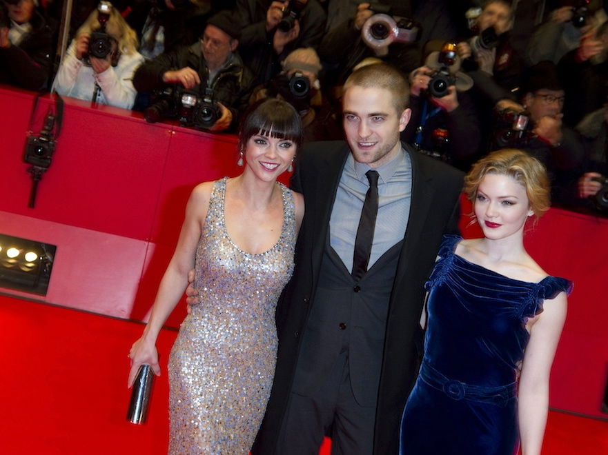 Robert Pattinson z Christiną Ricci i Holliday Grainger na Berlinale