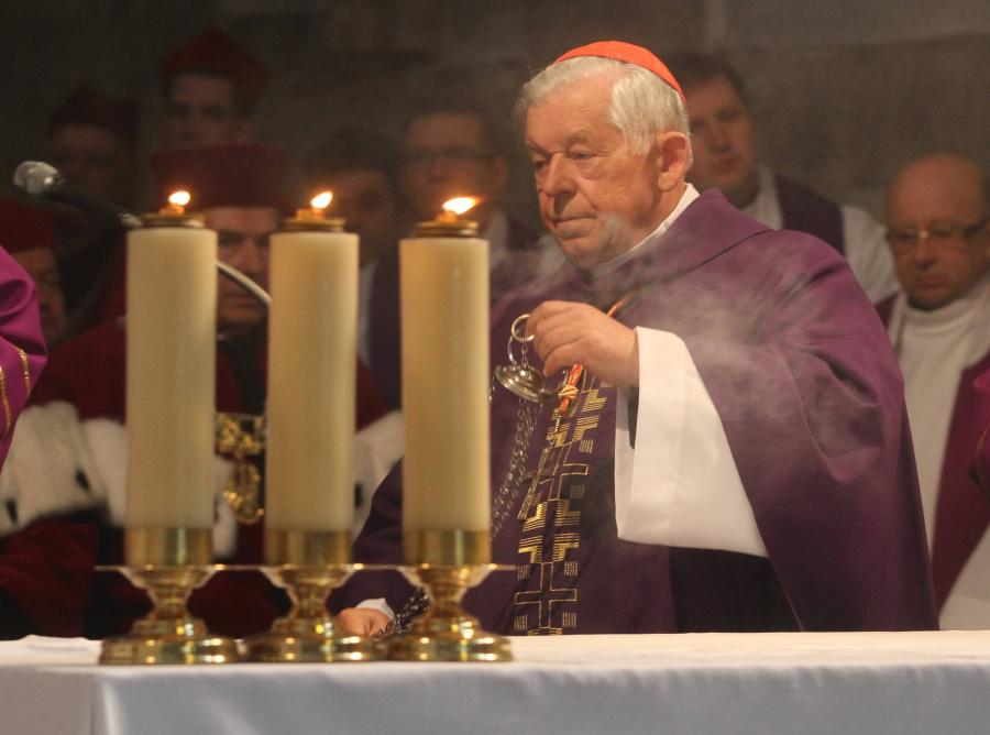 Kardynał Józef Glemp