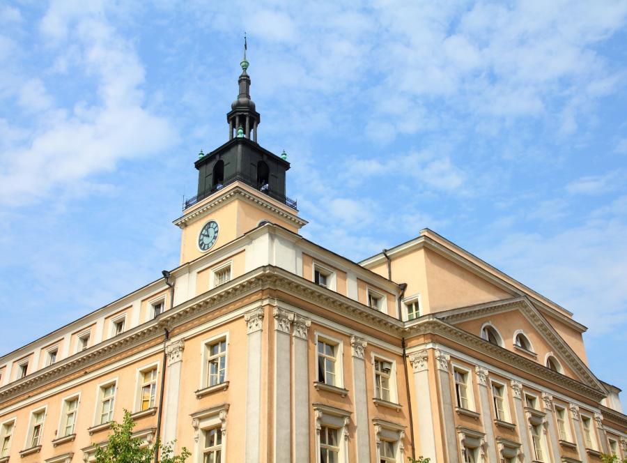 Miejski ratusz w Kaliszu