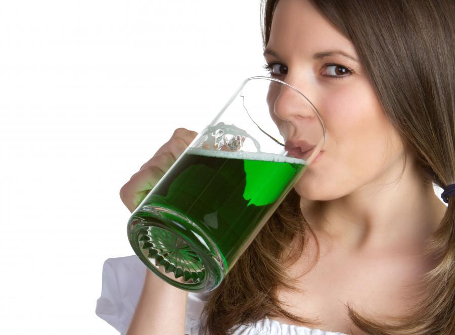 Wielkie zielone piwo na Wielki Czwartek