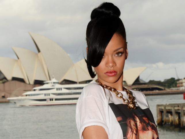 Rihanna w Australii