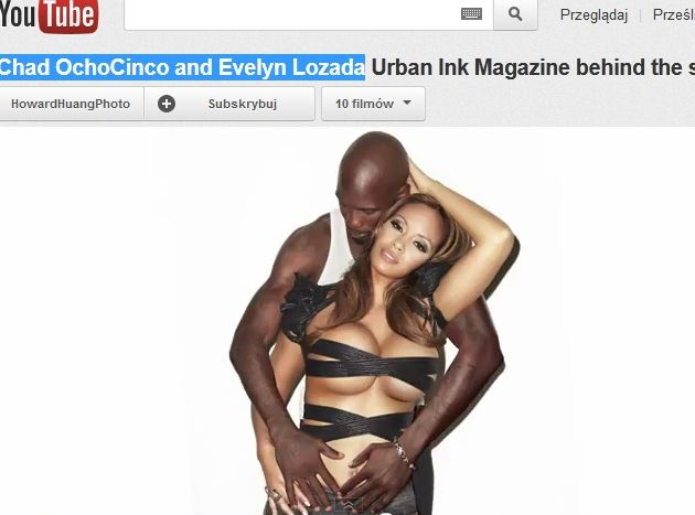 Chad OchoCinco i Evelyn Lozada