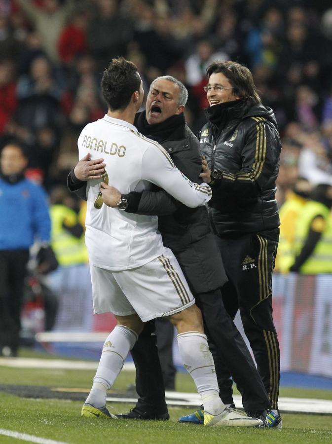 Jose Mourinho i Cristiano Ronaldo