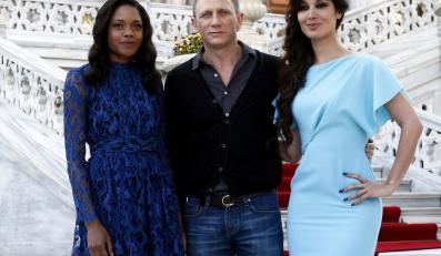 Naomie Harris, Daniel Craig i Berenice Marlohe