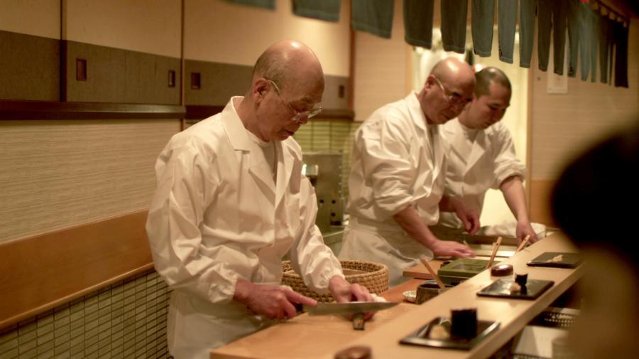 Jiro Ono –maszyna do robienia sushi