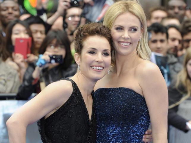 """Charlize Theron i Noomi Rapace na premierze """"Prometeusza"""""""