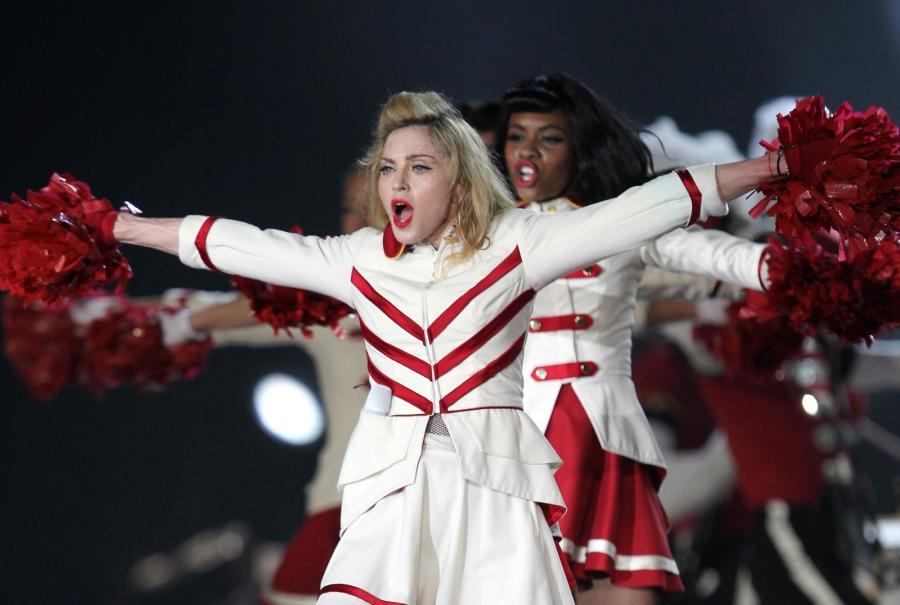 Madonna na trasie koncertowej promującej album \