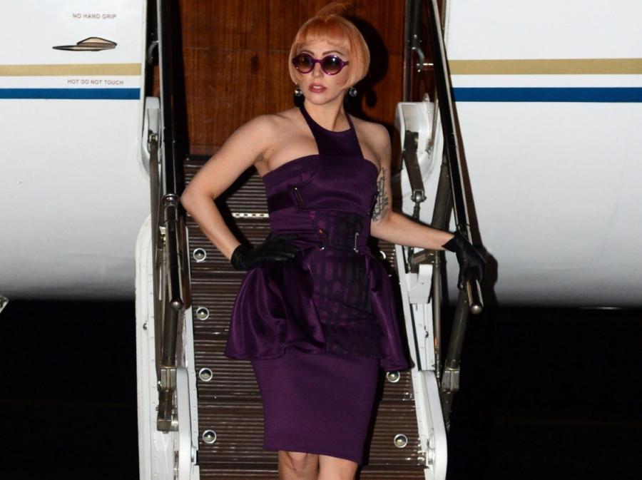Lady GaGa wyłądowała w australijskim Brisbane