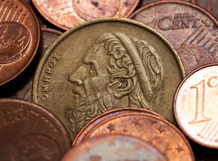 Greckie monety euro