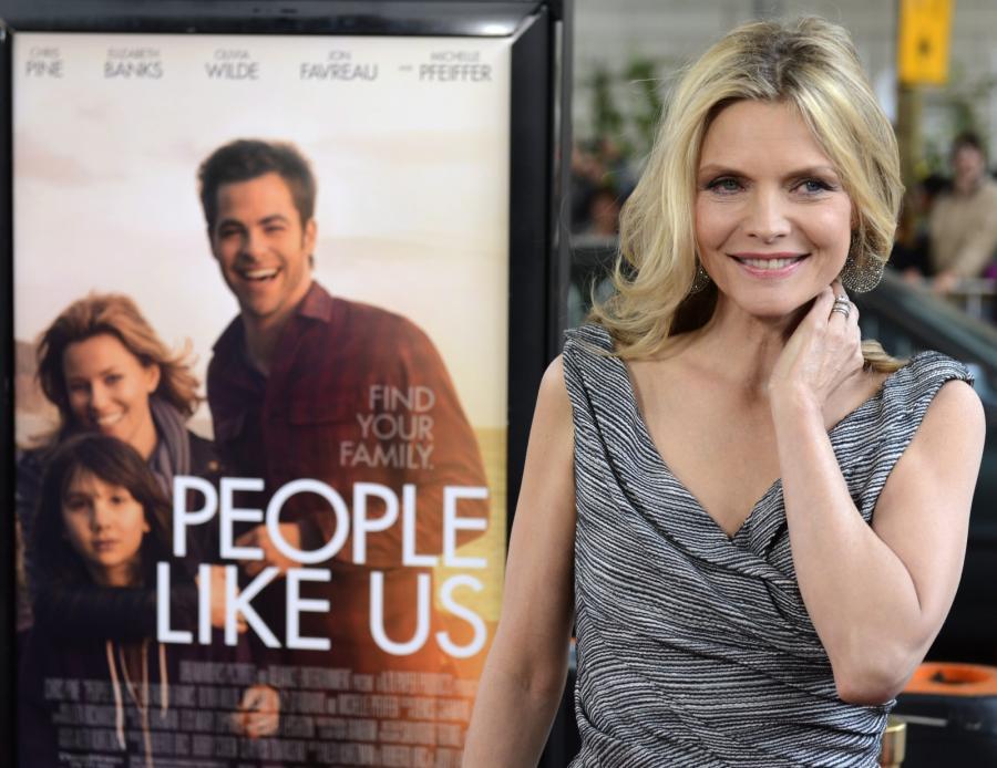Michelle Pfeiffer na premierze \