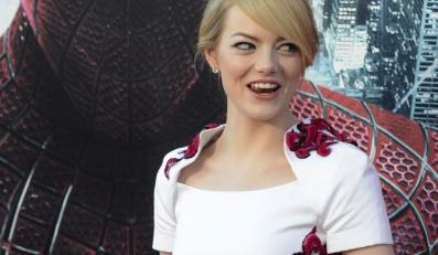 """Emma Stone na amerykańskiej premierze """"Niesamowitego Spider-Mana"""""""