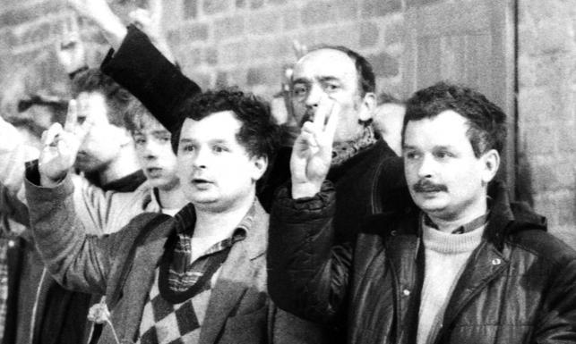 Lech i Jarosław Kaczyńscy w młodości