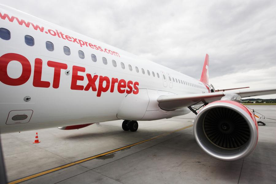 Nowy airbus OLT Express