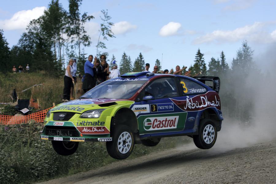 Drugie miejsce zdobył reprezentant gospodarzy Mikko Hirvonen (Ford Focus WRC)