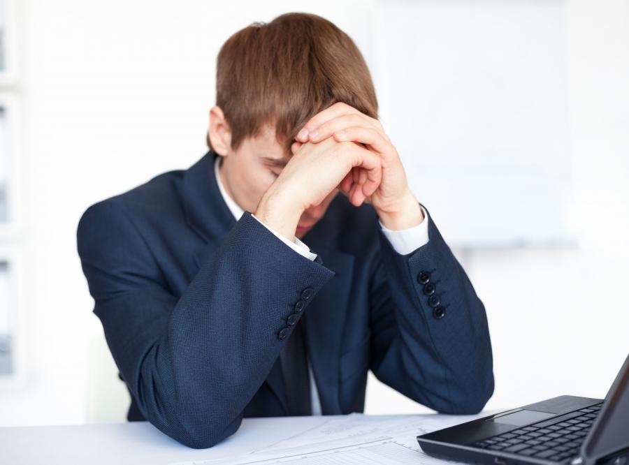 Mężczyzna stracił pracę - zdjęcie ilustracyjne