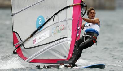 Przemysław Miarczyński na olimpijskim akwenie w Weymouth
