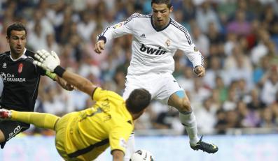 W akcji Cristiano Ronaldo