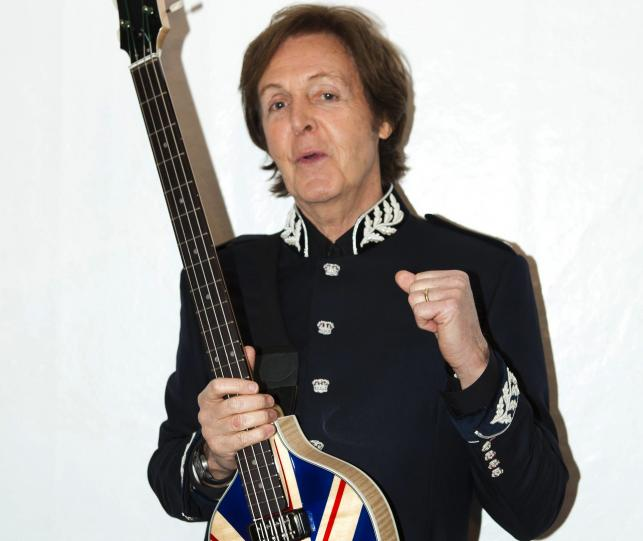 1. Paul McCartney