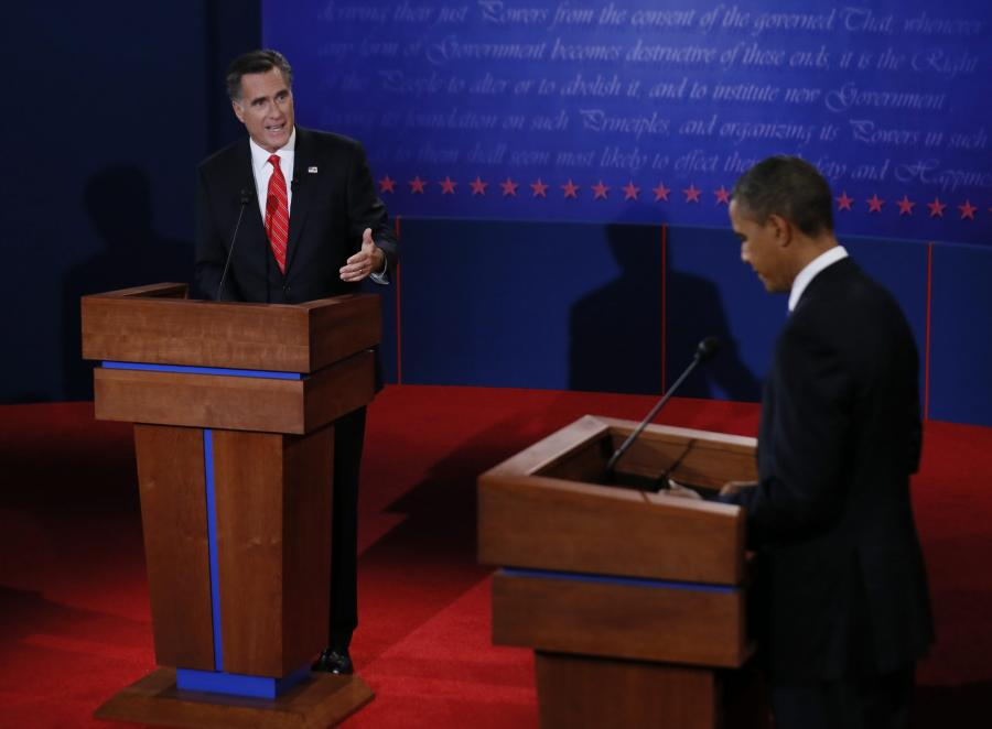 Debata Obama-Romney