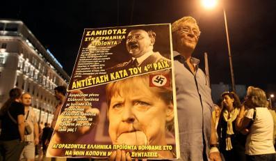 Protest w Grecji przeciwko wizycie Angeli Merkel