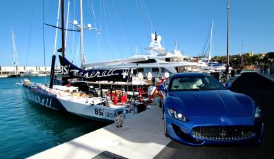 Maserati kupisz nad Wisłą