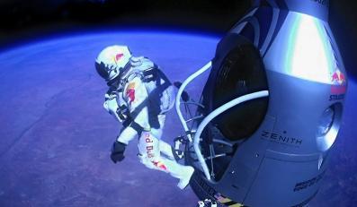 Felix Baumgartner skoczył i wylądował