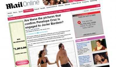 Penelope Cruz w za małym bikini