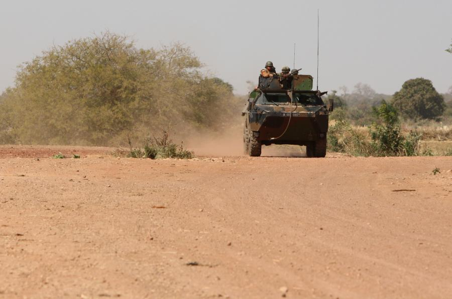 Francuscy żołnierze w Mali