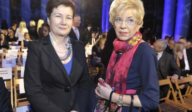 Hanna Gronkiewicz-Waltz i Janina Paradowska