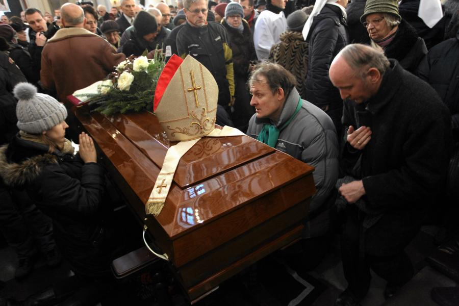 Pogrzeb kardynała Glempa w archikatedrze