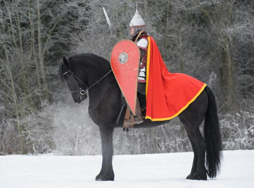 Rycerze wyruszają na turniej zimowy