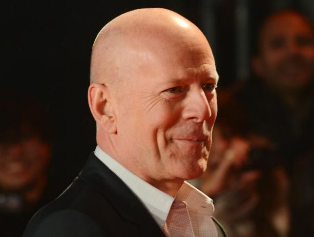 """Bruce Willis poczas premiery """"Szklanej pułapki 5"""" w Londynie"""