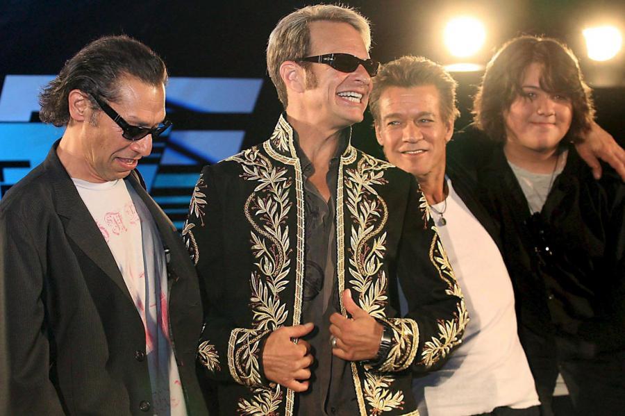 Van Halen: Alex Van Halen, David Lee Roth, Eddie Van Halen i Wolfgang Van Halen