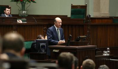Jacek Rostowski w Sejmie