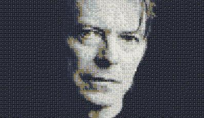 David Bowie – portret autorstwa Guy'a Whitby'ego, aka WorkByKnight (WBK)