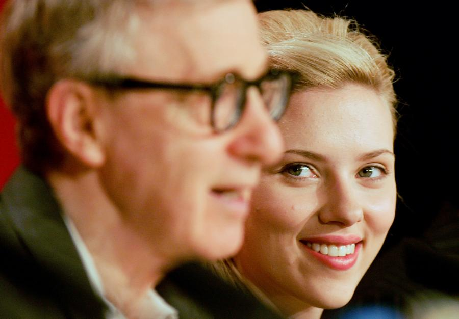 Woody Allen zawsze chce Scarlett Johansson