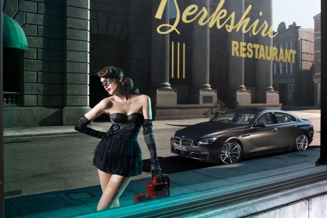 Erotyka dla koneserów, czyli BMW serii 6 Gran Coupe w klimacie burleski