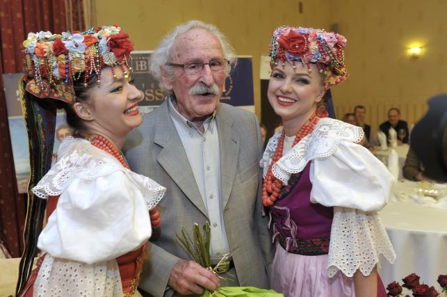 Franciszek Pieczka świętował 85 urodziny