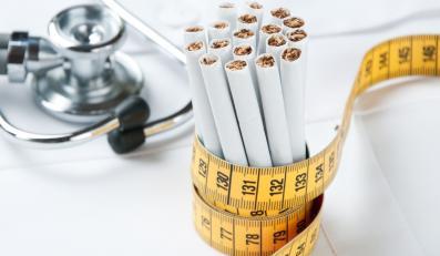 Rzucenie palenia papierosów oznacza przytycie?
