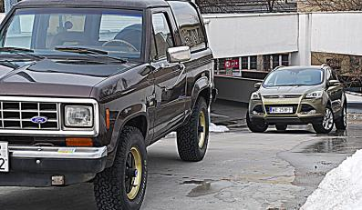 Ford bronco II i ford kuga