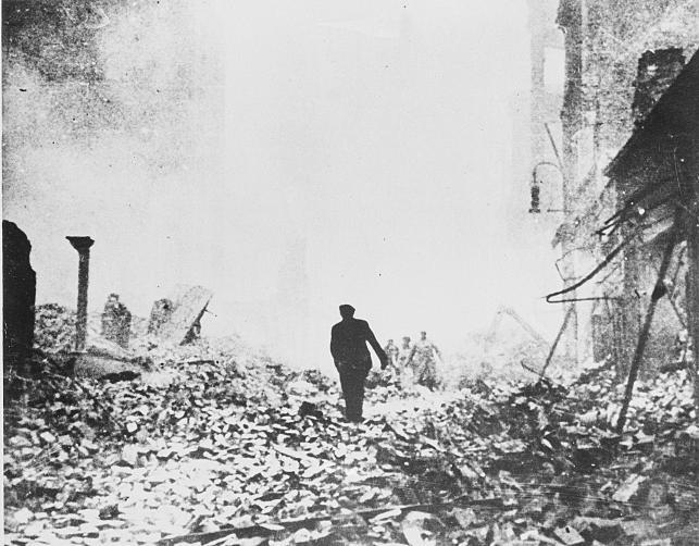Hamburg w grudniu 1943 roku
